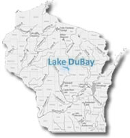 Click for detailed map of the Lake DuBay area